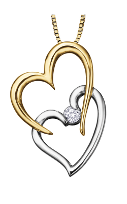 I am Canadian Diamond Solitaire Pendant PP2402YWC-10 product image