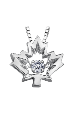 I am Canadian™ Northern Dancer™ Diamond Solitaire Pendant PP3156W/14C-10 product image