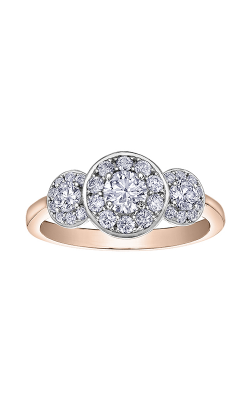 I Am Canadian™ Diamond Ladies Three Stone Ring R30687RW/85 product image