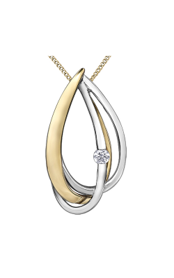 I Am Canadian™ Diamond Solitaire Pendant PP3814YW/03C-10 product image