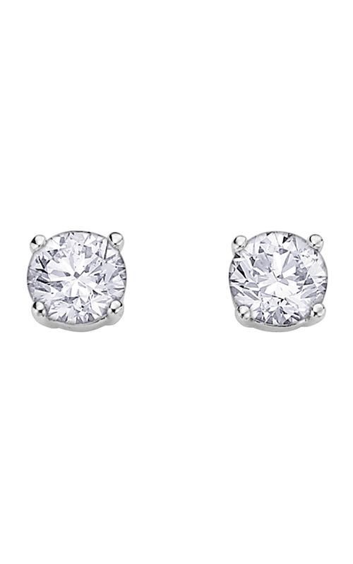 I am Canadian Diamond Stud Earrings EE2345W/50 product image