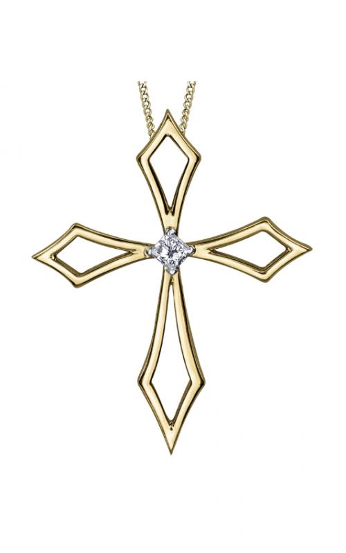 I am Canadian™ Diamond Solitaire Pendant PP4045/04C-10 product image