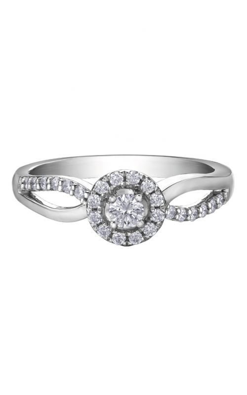 I am Canadian™ Diamond Ladies Three Stone Ring R30592WG/30-10 product image