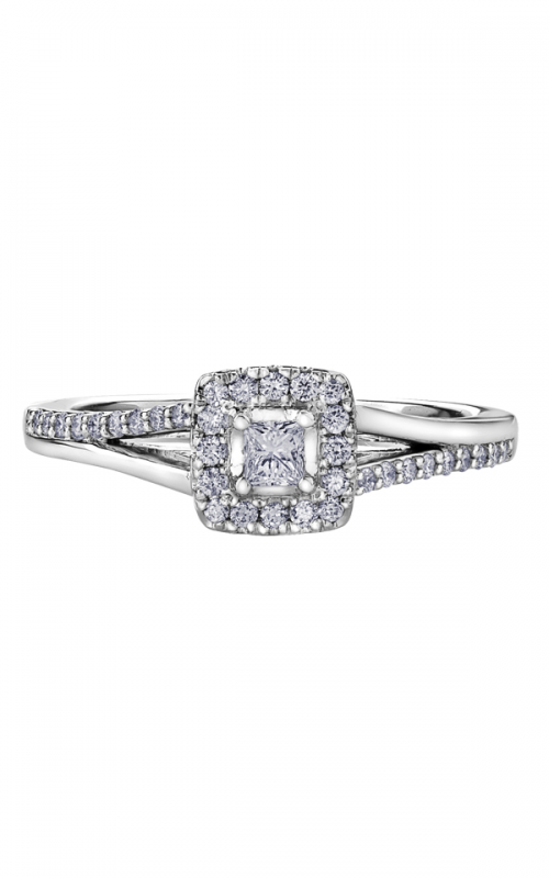 I am Canadian™ Diamond Ladies Three Stone Ring R30594WG/30-10 product image