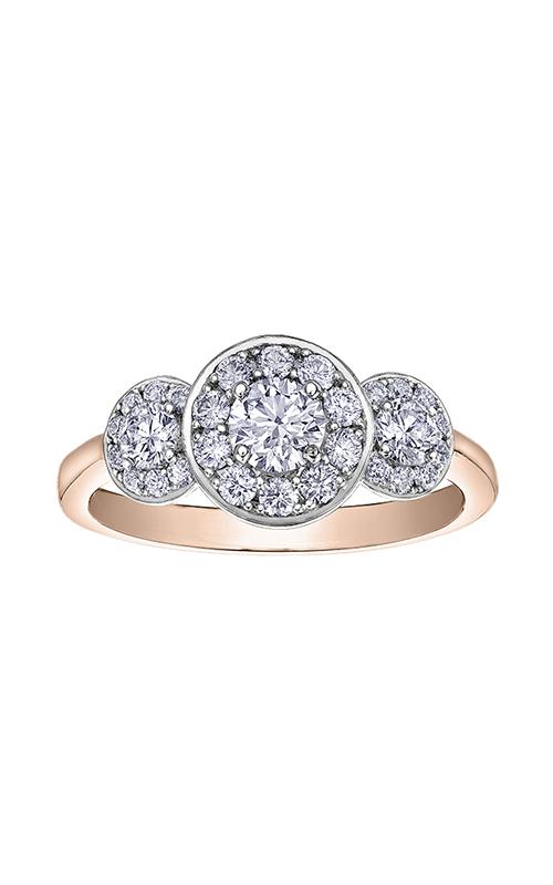 I am Canadian™ Diamond Ladies Three Stone Ring R30687RW/85 product image