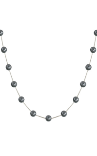 Imperial Pearls Necklaces 965257/BLKWH