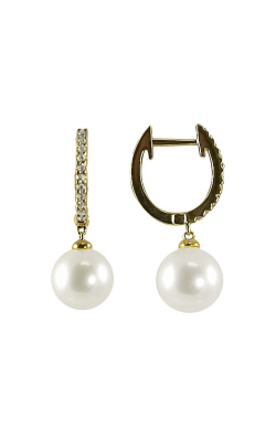 Imperial Pearl 14KT Gold Freshwater Pearl Earrings 924356 product image