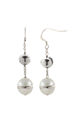 Imperial Pearls Silver Collection Earring 625074 FW product image