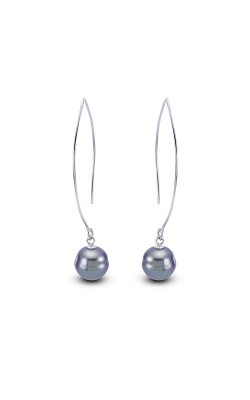 Imperial Pearls Sterling Silver Tahitian Pearl Earring 623840 product image