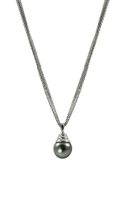 Imperial Pearls Sterling Silver Tahitian Pearl Necklace 682096 18 product image