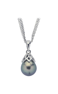 Imperial Pearl Sterling Silver Tahitian Pearl Pendant 688087/B18 product image