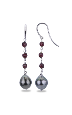 Imperial Pearls Silver Collection Earring 621839B product image