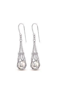 Imperial Pearl Lace Earrings 629315/FW product image