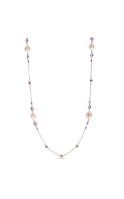 Imperial Pearls Silver Collection Necklace 661849 NQ-AM product image