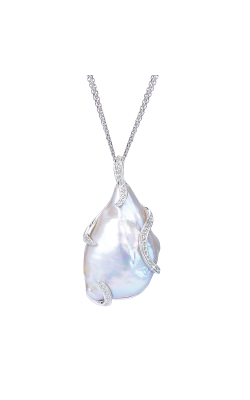 Imperial Pearl Silver Collection Necklace 688817/FW24 product image
