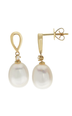 Imperial Pearl 14KT Gold Freshwater Pearl Earrings 924786/FW product image