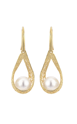 Imperial Pearl Silk Earrings 928811/AAFW product image