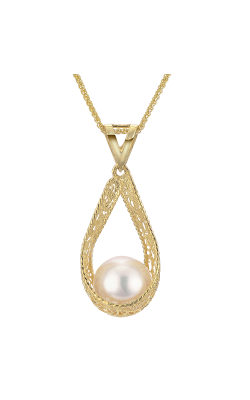 Imperial Pearl Silk Necklace 988811/AAFW18 product image
