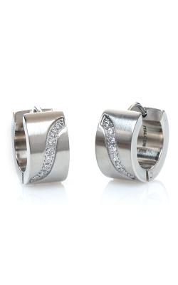 Italgem Steel Men's Earrings Earrings SEA120 product image