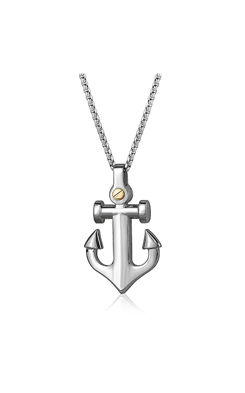 Italgem Steel Men's Necklaces Necklace SP137 product image