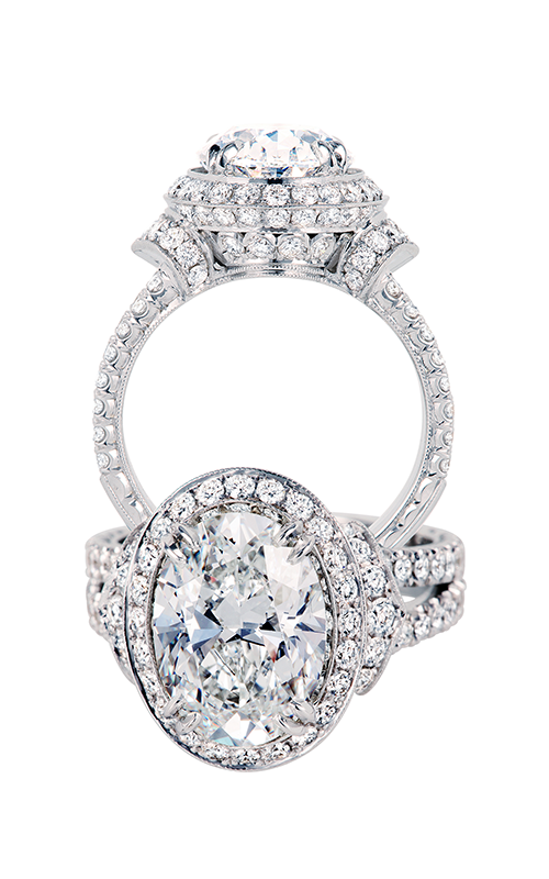 Jack Kelege Engagement Ring KGR 1066OV product image