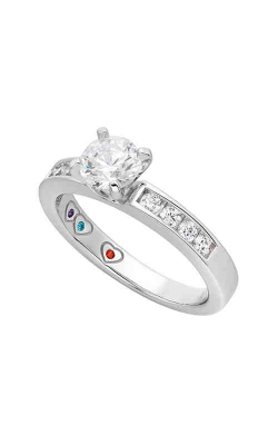 Jewelry Designer Showcase Yours Mine Ours Engagement Ring SB038 product image
