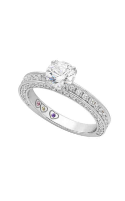 Jewelry Designer Showcase Yours Mine Ours Engagement Ring SB054 product image