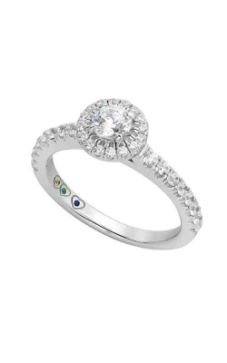 Jewelry Designer Showcase Yours Mine Ours Engagement Ring SB121 product image
