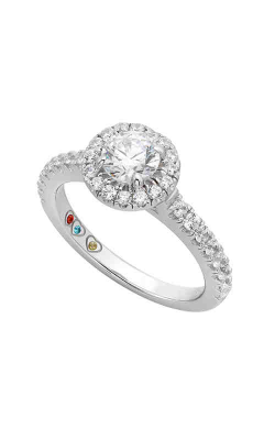 Jewelry Designer Showcase Yours Mine Ours Engagement Ring SB122 product image