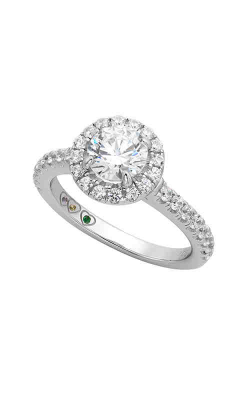 Jewelry Designer Showcase Yours Mine Ours Engagement Ring SB124 product image