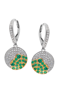 Jewelry Designer Showcase Floral Earrings RC14 product image