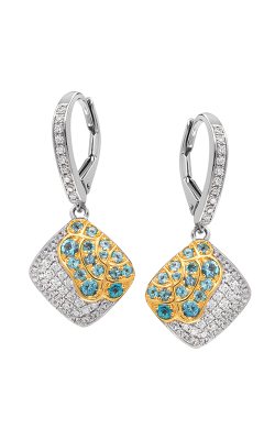 Jewelry Designer Showcase Floral Earrings RC17 product image