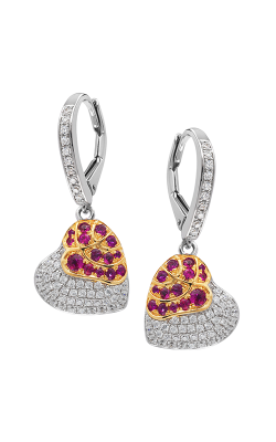 Jewelry Designer Showcase Floral Earrings RC22 product image