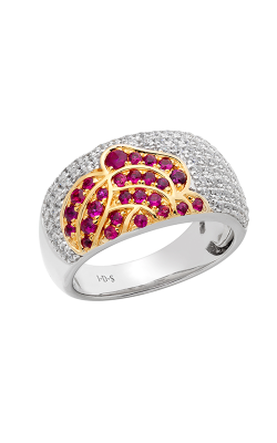 Jewelry Designer Showcase Floral Fashion ring RC26 product image
