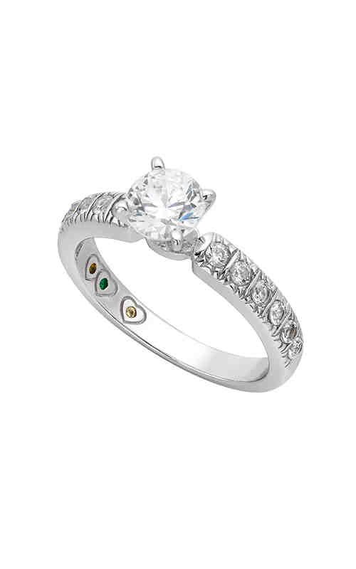 Jewelry Designer Showcase Yours Mine Ours Engagement ring SB037 product image