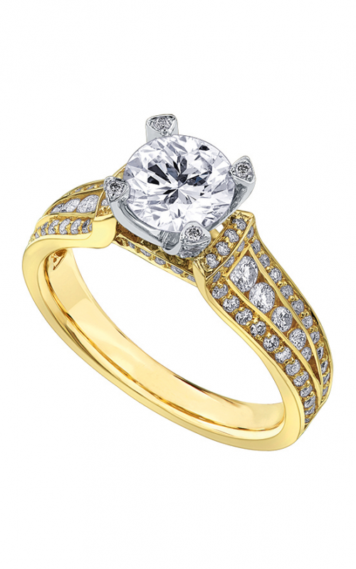 Julianna Collection Engagement ring R3799YW-105-18 product image