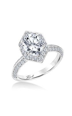 KARL LAGERFELD PERSPECTIVE Engagement Ring 31-KA112GVY-E.00 product image