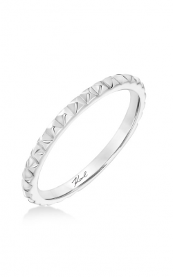 KARL LAGERFELD Pyramid Wedding Band 31-KA161P-L.00 product image