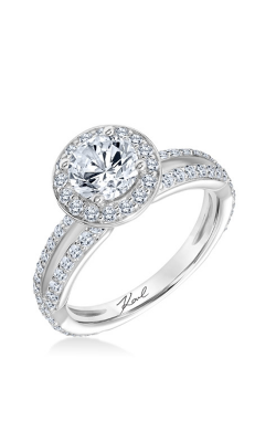 KARL LAGERFELD PERSPECTIVE Engagement ring 31-KA158ERW-E.00 product image
