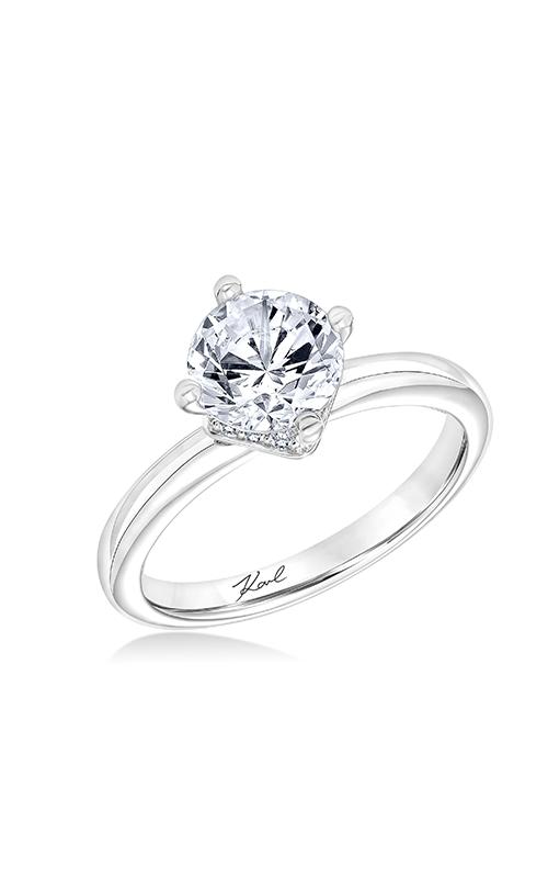 Shop KARL LAGERFELD 31KA154GRWE00 Engagement rings Today Buy