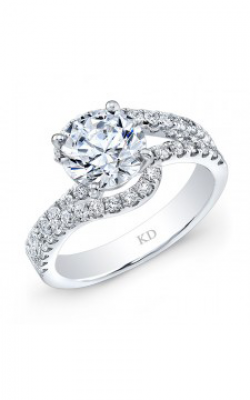 Kattan Beverly Hills Bridal Ring GDR381-125 product image