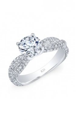 Kattan Beverly Hills Engagement Ring GDR7022-L product image