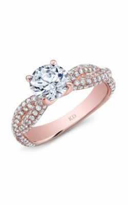 Kattan Beverly Hills Bridal Ring GDR7022R-L product image