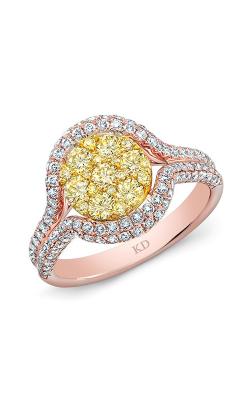 Kattan Clusters Fashion ring ARF0335YD product image