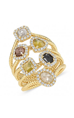 Kattan Rough Fashion Ring LRFB2845Y-02 product image
