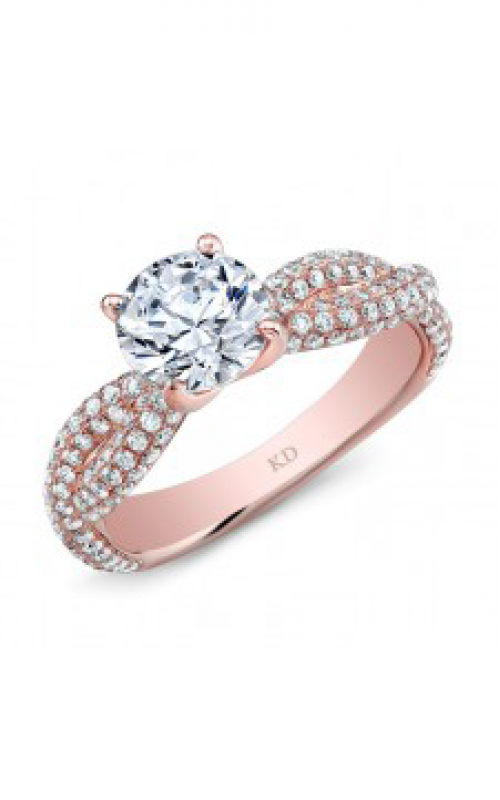 Kattan Beverly Hills Engagement ring GDR7022R-L product image