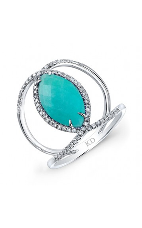 Kattan Trendz Fashion Ring JVR018797AZ product image