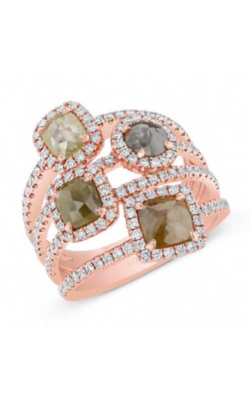 Kattan Rough Fashion Ring LRCA4637R-23 product image