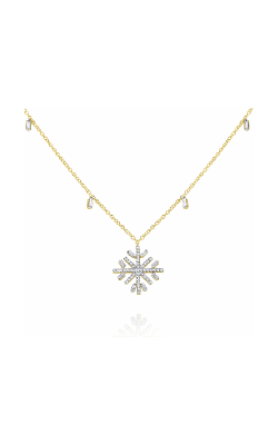 KC Designs Snowflake Necklace N7851 product image