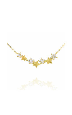 KC Designs Stars And Moons Necklace N7863 product image